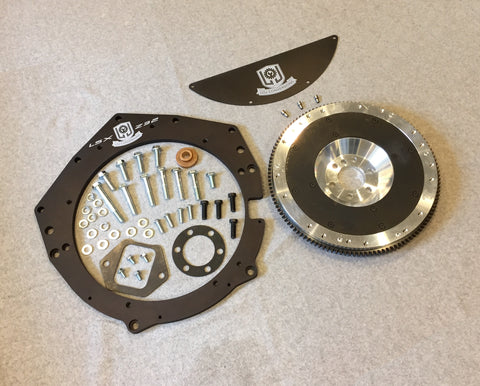 300ZX LSx Transmission Adapter and Flywheel