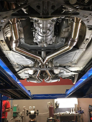 350Z / G35 Coupe True-Dual LS Swap Exhaust System by Kooks