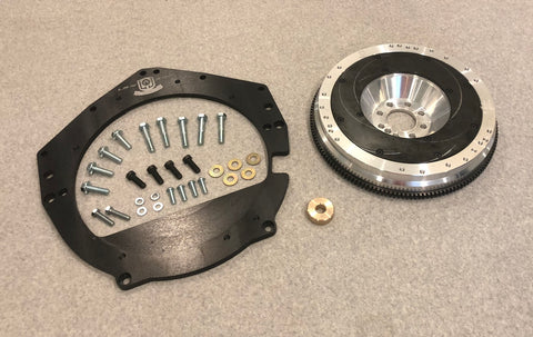 300ZX LTx Transmission Adapter and Flywheel
