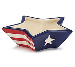 Americana Star Shaped Bowl