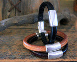 Back Country Leather Bracelet