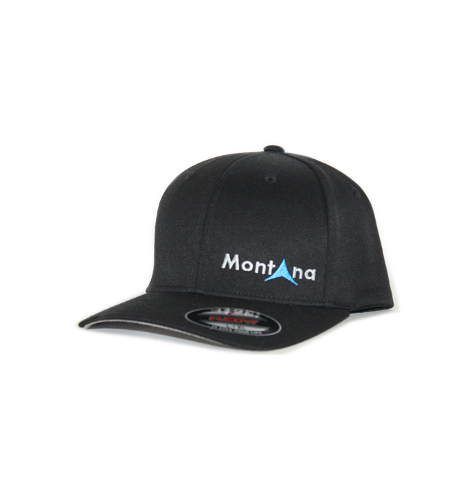 Black Lone Peak Montana Hat
