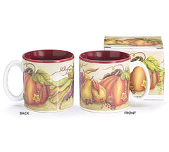 Abundant Blessings & Grateful Harvest Fall Mugs