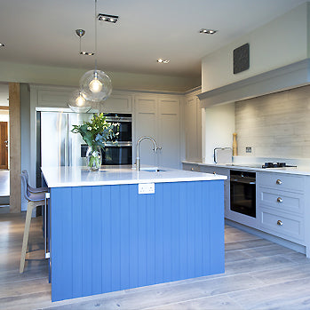 Grey Shaker Kitchen Cogenhoe