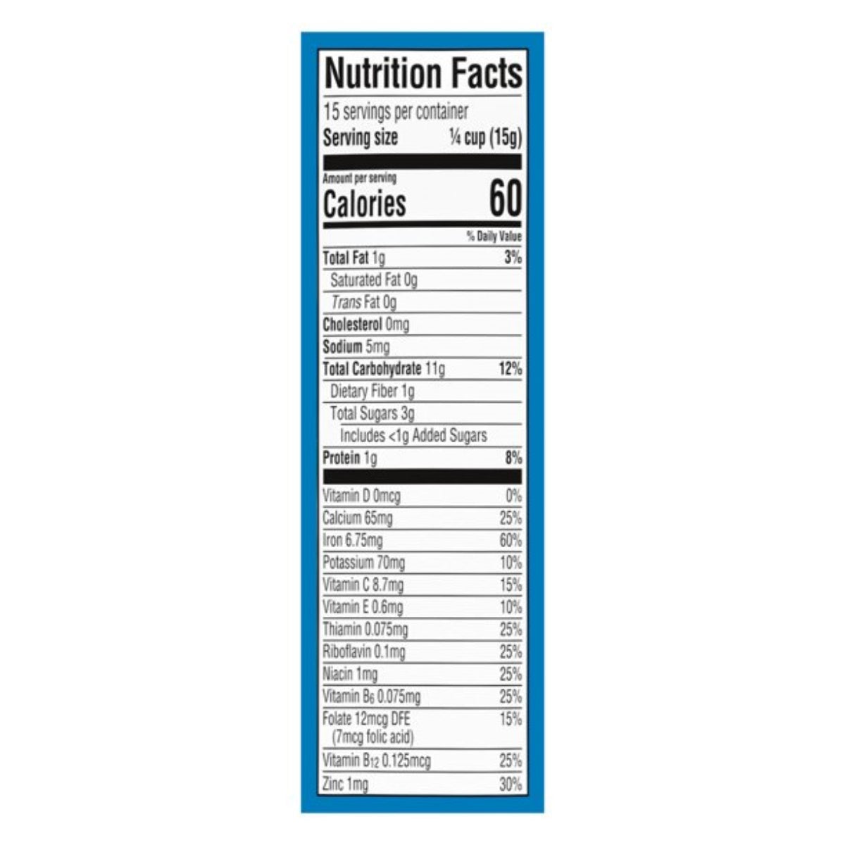 Gerber Multigrain Cereal - 227g (8oz)
