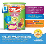 Nestle Cerelac Wheat & Fruit Pieces - 400g (Imported)