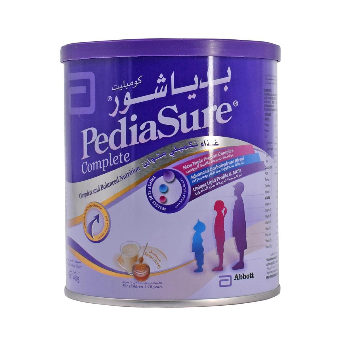 Pediasure Complete 400g - Sweet Honey (Imported)