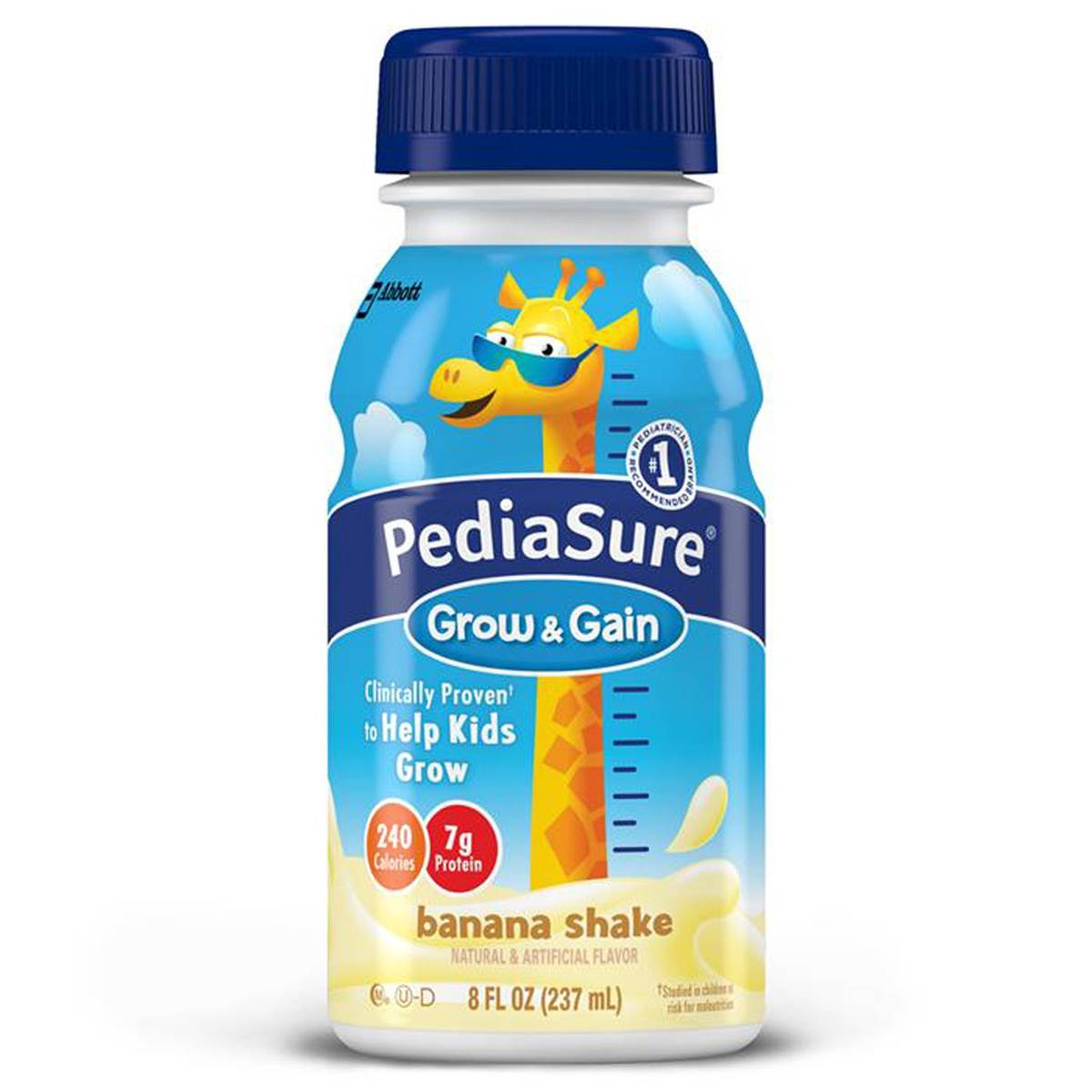 Pediasure Grow & Gain 237ml (8oz) - Banana Shake