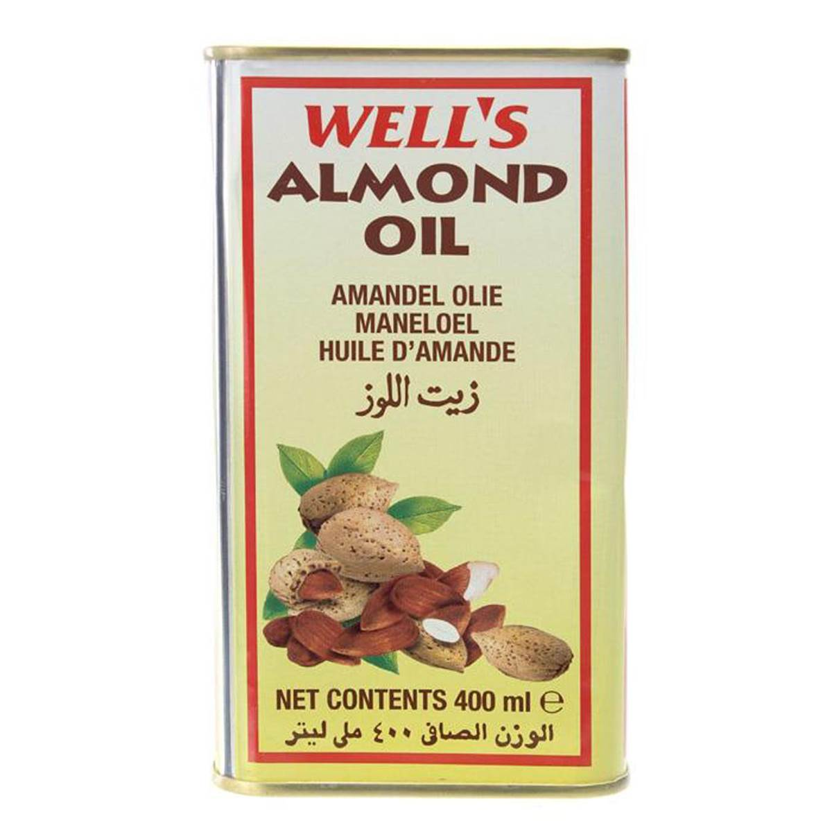 Wells Almond Oil - 400ml