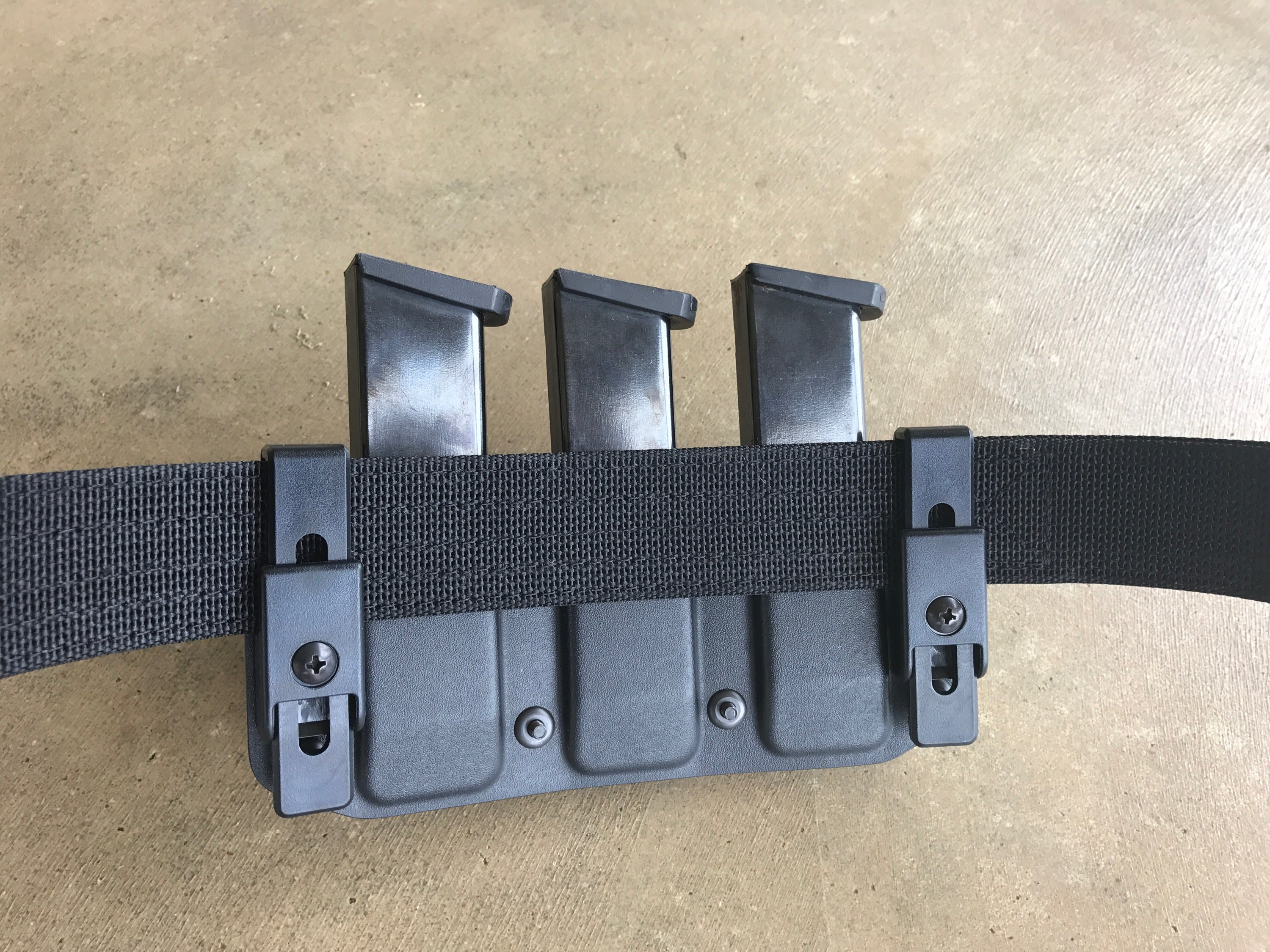 Triple Pistol Mag Pouch Warfytr Equipment