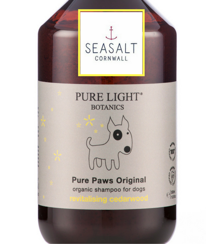 Organic Dog Shampoo now at Seasalt Cornwall