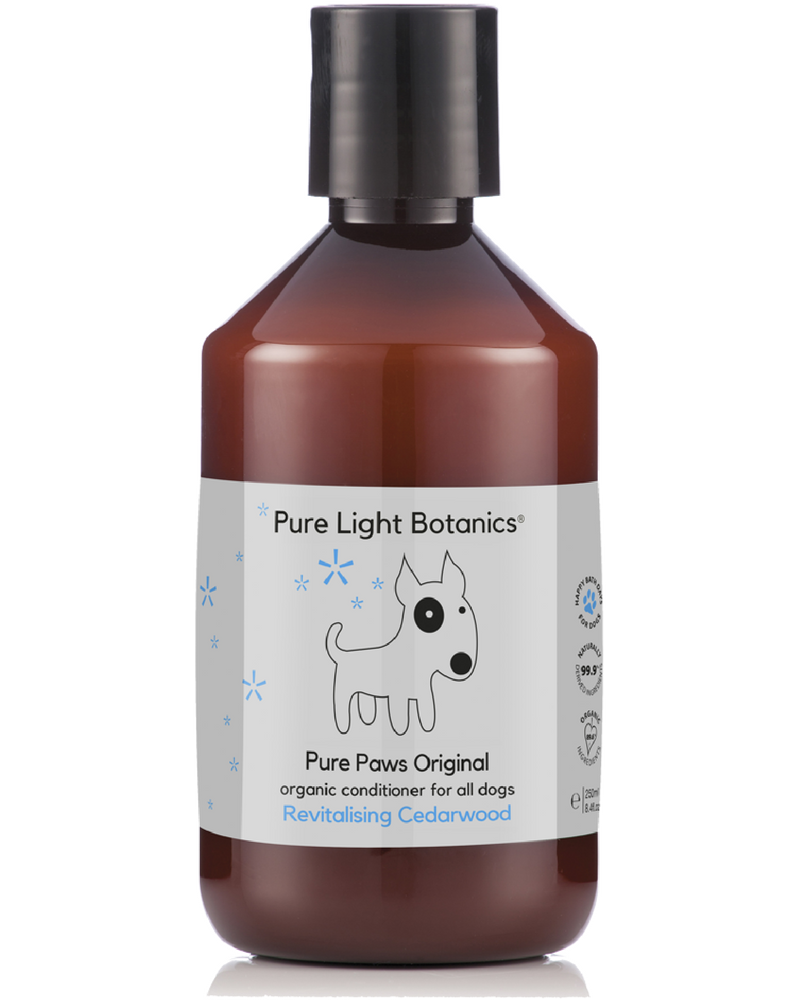 'Pure Paws' Original Organic Dog Conditioner 250ml - Pure Light Botanics