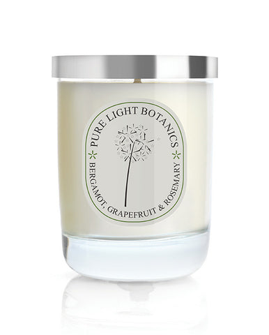 Invigorating Bergamot, Grapefruit & Rosemary Candle - Pure Light Botanics