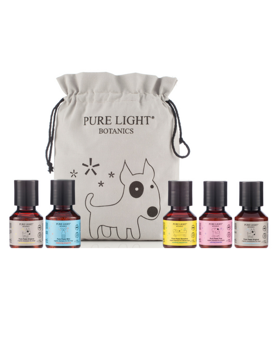 Deluxe Doggy Grooming Gift Bag - Pure Light Botanics - 1