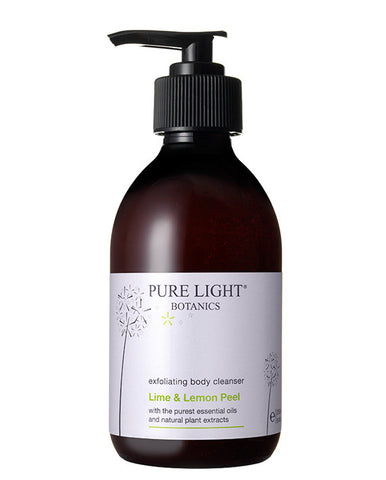 Lime Peel & Lemon Exfoliating Body Cleanser (250ML) - Pure Light Botanics