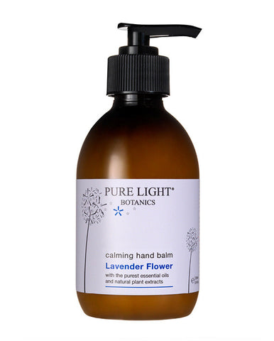 Calming Lavender Flower Hand Balm (250ml) - Pure Light Botanics