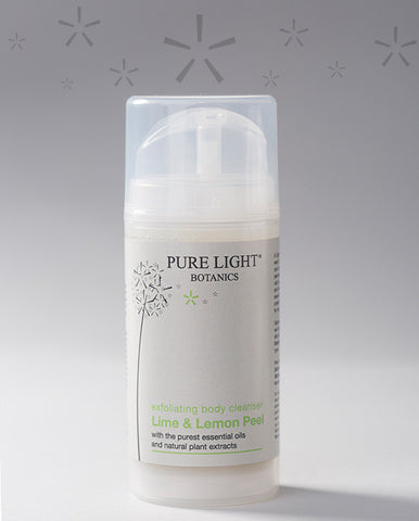 Lime Peel & Lemon Exfoliating Body Cleanser (100ML) - Pure Light Botanics