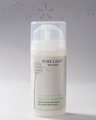 Lime Peel & Lemon Exfoliating Hand Wash (100ML) - Pure Light Botanics