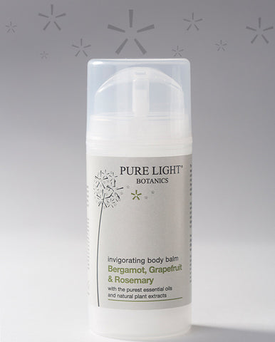 Invigorating Bergamot, Grapefruit & Rosemary Body Balm (100ML) - Pure Light Botanics