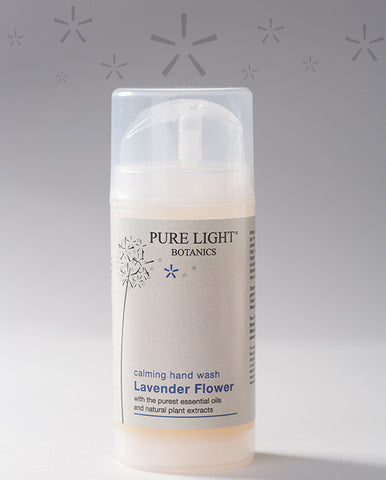 Calming Lavender Flower Hand Wash (100ML) - Pure Light Botanics