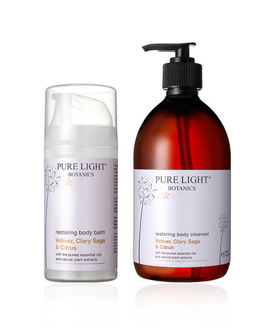 Restoring Luxury Gift Bag For Men - Pure Light Botanics