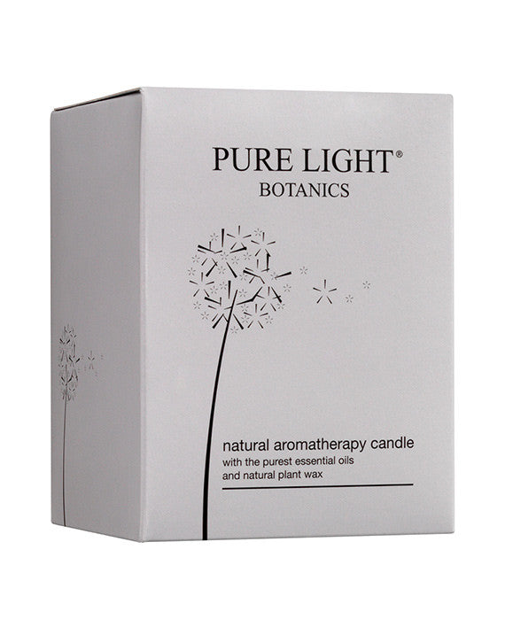 Nourishing Geranium & Sweet Orange Candle - Pure Light Botanics