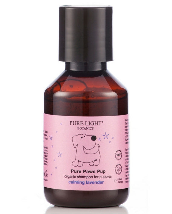 'Pure Paws' Pup Organic Shampoo for Puppies (100ml) - Pure Light Botanics