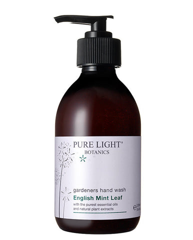 English Mint Leaf Gardener's Hand Wash (250ML) - Pure Light Botanics