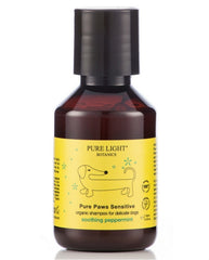 'Pure Paws' Sensitive Organic Shampoo for Itchy/Delicate Dogs (100ml) - Pure Light Botanics