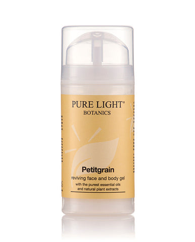 Petitgrain Reviving Face & Body Gel - Pure Light Botanics