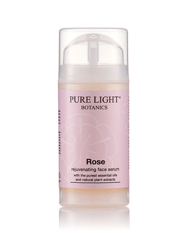 Rose Rejuvenating Organic Face Serum (100ml) - Pure Light Botanics