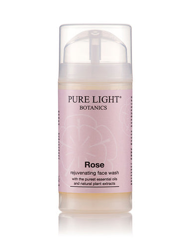 Rose Rejuvenating Face Wash (100ml) - Pure Light Botanics
