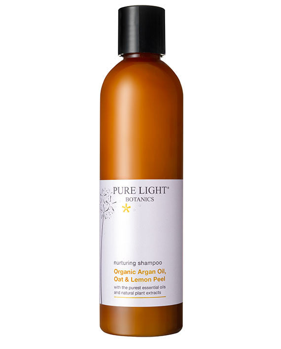 Nurturing Argan Oil, Oat & Lemon Peel Organic Shampoo (250ML) - Pure Light Botanics