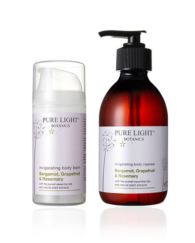 Invigorating Luxury Gift Bag - Pure Light Botanics