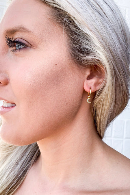 Ages Ago Earrings - Gold