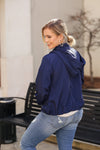 April Showers Rain Jacket - Navy