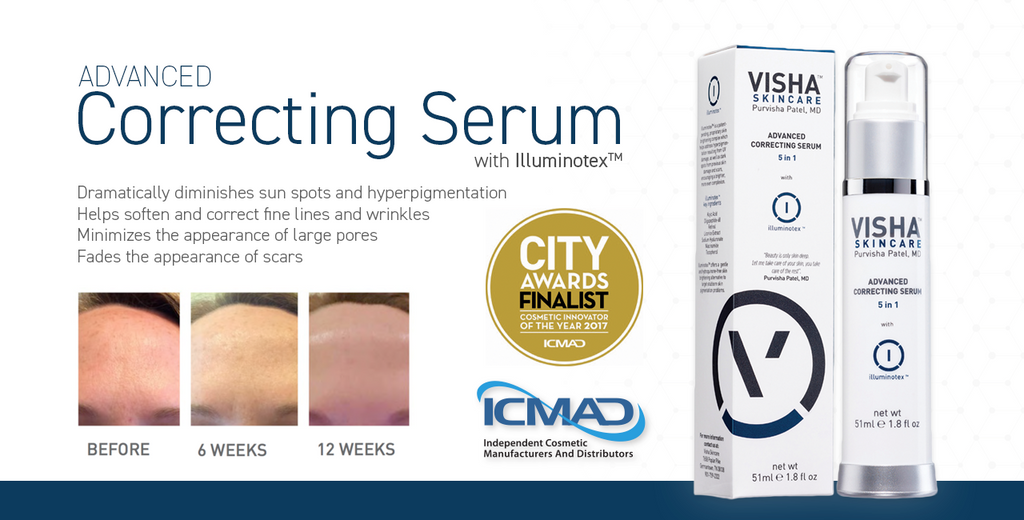 Advanced Correcting Serum Chosen as Finalist
