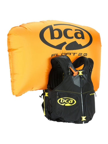 BCA Float MTN Pro Vest and cylinder combo