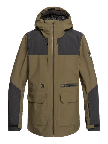 Quiksilver Men's Arrow Wood - Snow Jacket