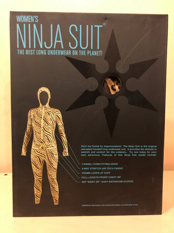 Women's Ninja Suit - Hooded
