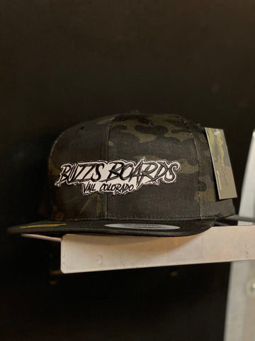 BUZZ'S BOARDS SLASHER PATCHED SNAPBACK HAT