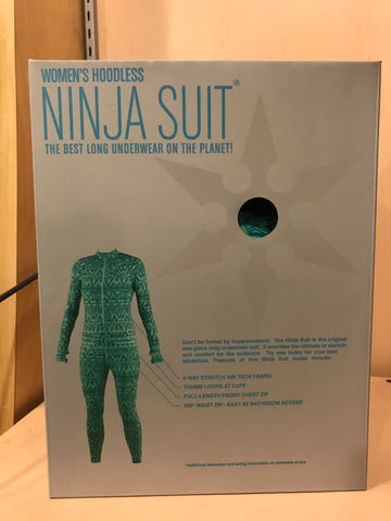 Women's Ninja Suit - Hoodless