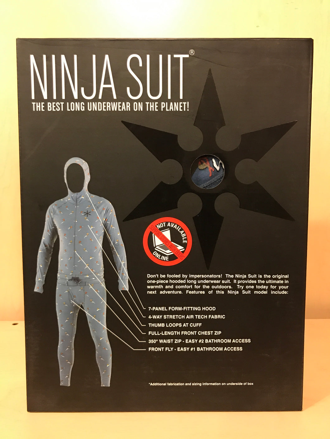 Ninja Suit - Hooded