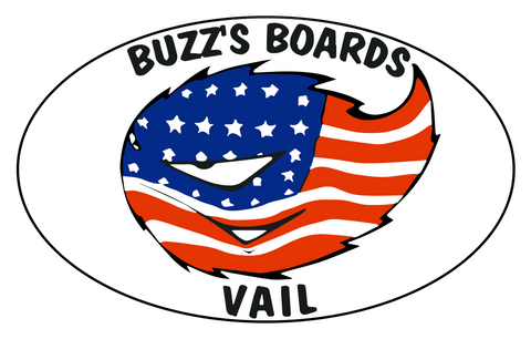 Buzz's Boards Oval Sticker