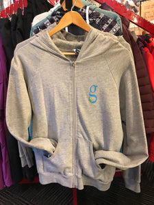 GNU Ladies Zip-Up Hoodie