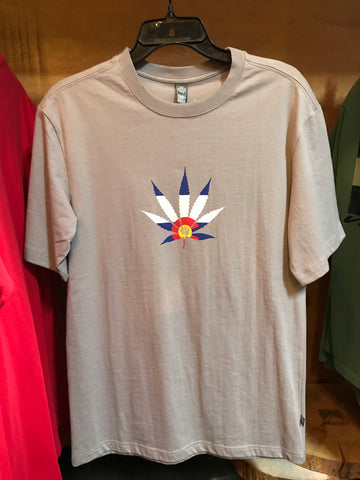 Colorado Weed Leaf t-shirt