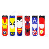 18650 Battery Sleeve/Wrap Heat Shrinkable PVC - Super Heroes