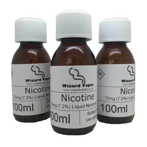 Nicotine Freezer Pack- 72mg/7.2%