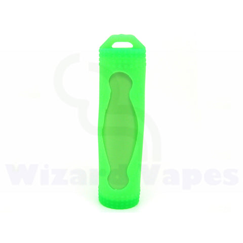 Protective Silcone Sleeve for 18650 Batteries (Green)