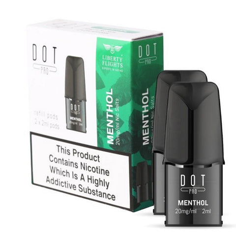 Dot Pro Refill Pods (Liberty Flights Menthol)